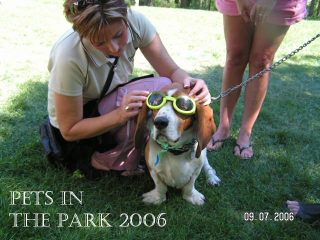2006 PIP - Keri_Ferguson_and_blind_dog