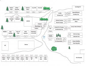 2015 map of vendors layout